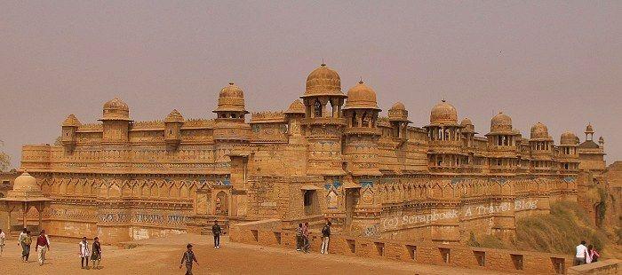 Gwalior fort - Gwalior - Madhya pradesh - India