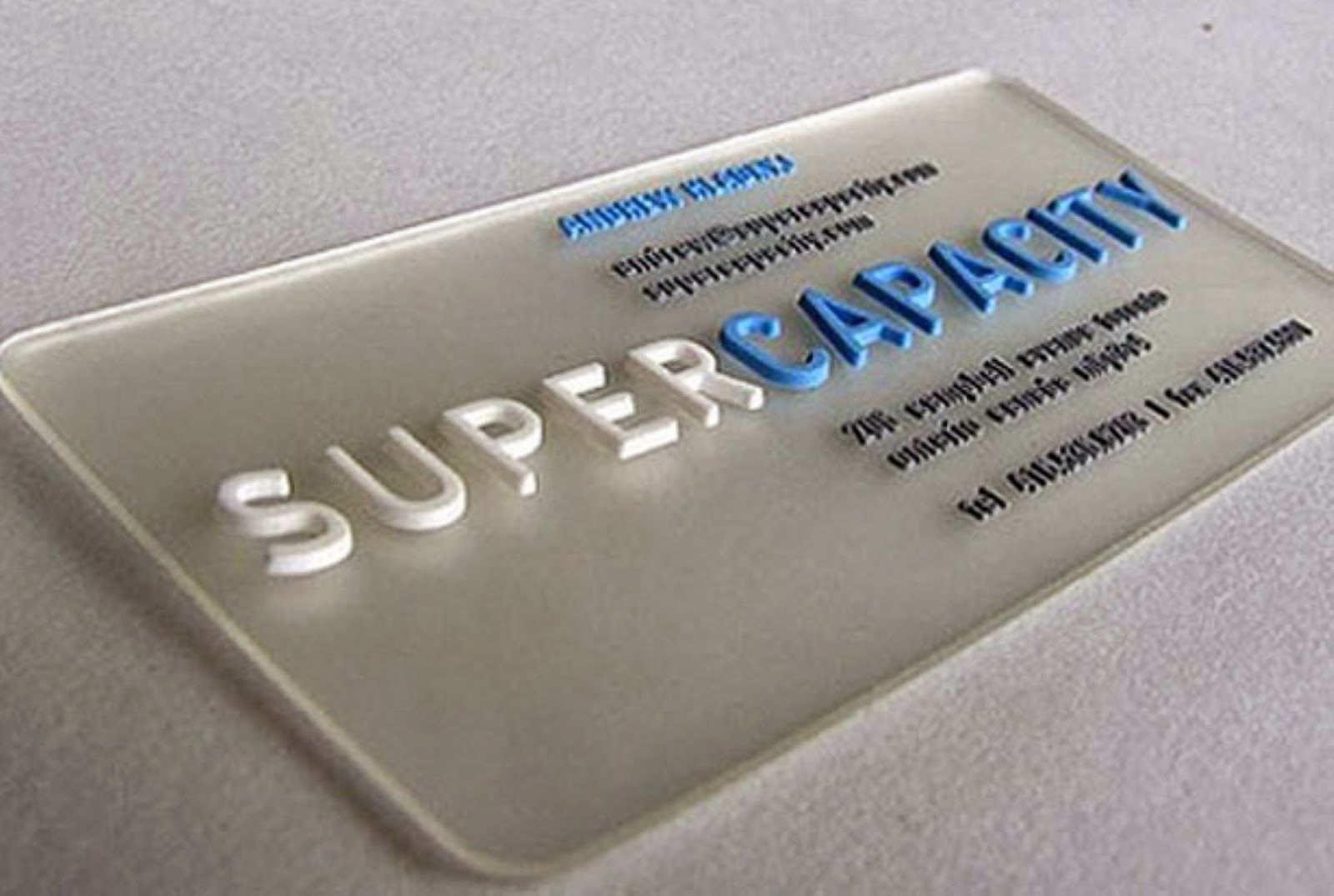 Interesantas vizītkartes (bussines card)