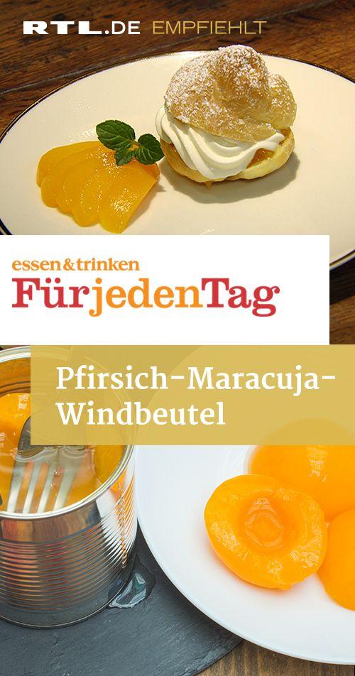 Pfirsich-Maracuja-Windbeutel #pumpkinspicecupcakes