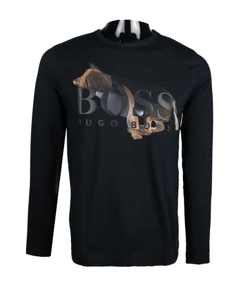 New Hugo Boss Men's Long Sleeve T-Shirt TOGN CNY 50378706 xl 2xl