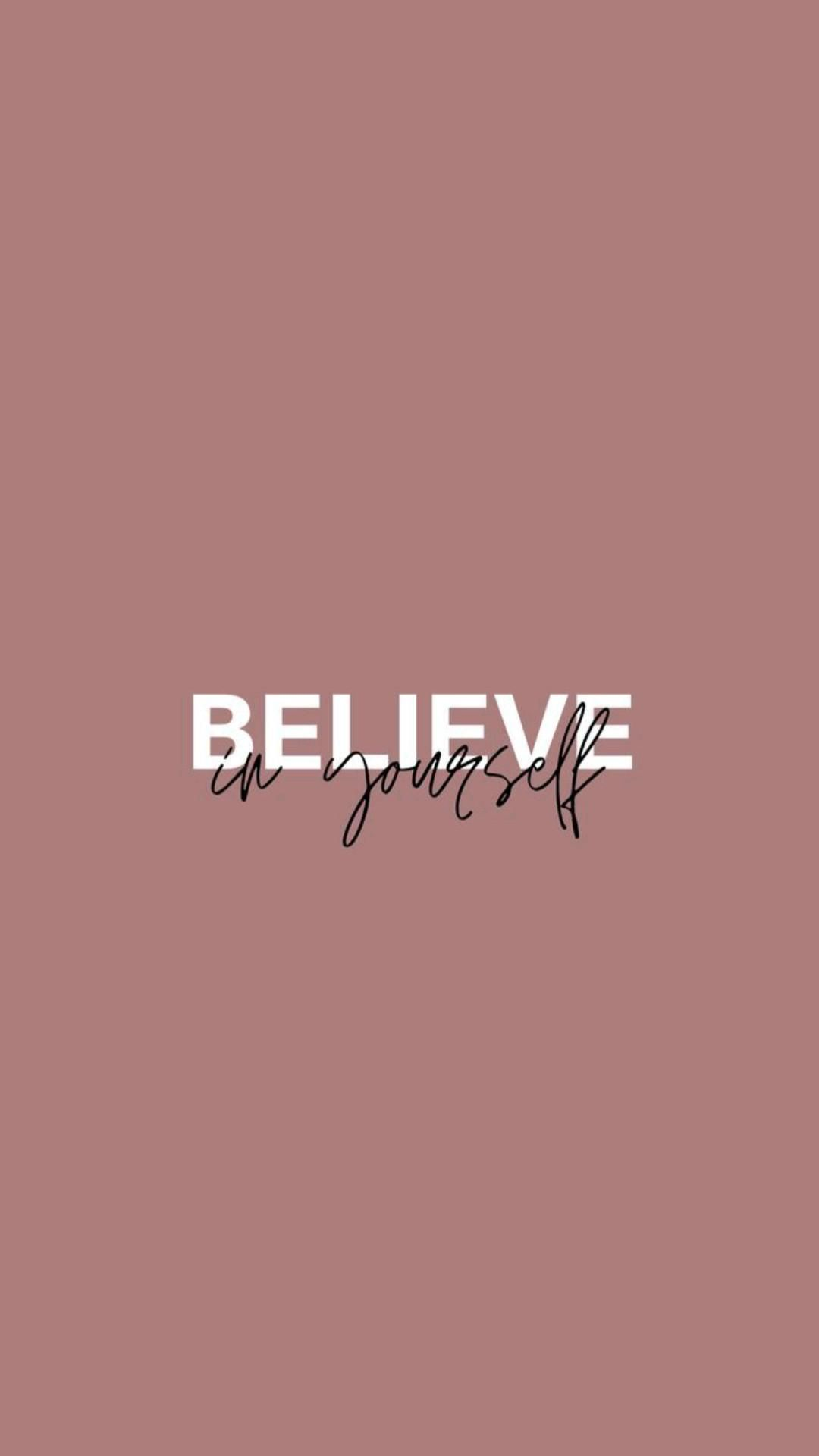 believe in yourself 🌺🌼❤️