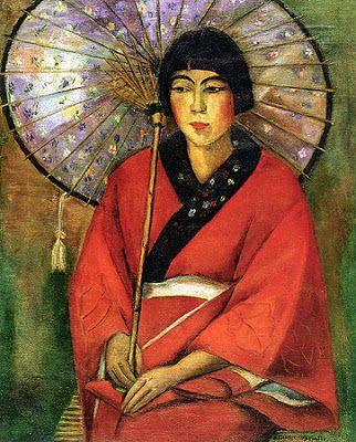 A Japonesa De Anita Malfatti 1924 Colecao Gilberto Chateaubriand