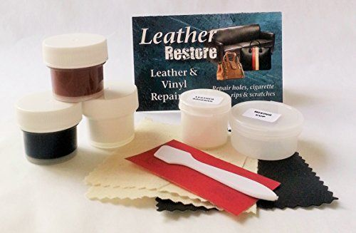 Leather Repair Kit that actually works This is cutomized for brown