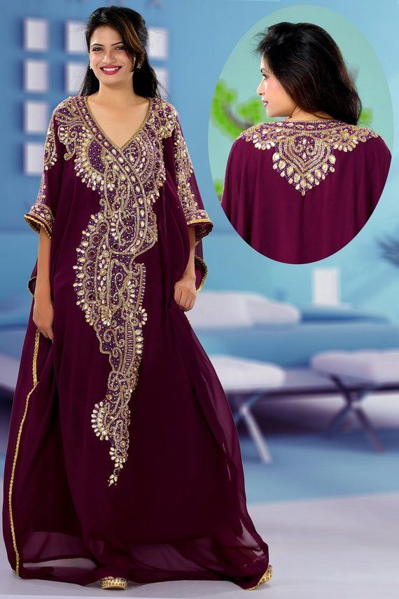 27a4b5a1bf3 Caftan  Maxi Dress Dubai kaftan Party dress Elegant dress African clothing Plus  size dress Plus size
