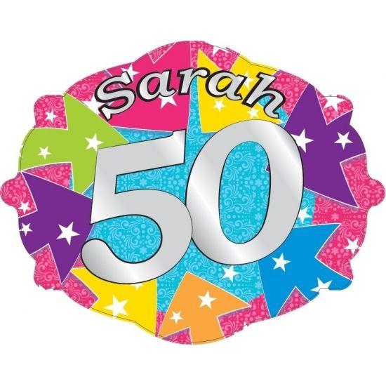 Sarah Kroonschild 50. Materiaal: Karton. Formaat: Ongeveer