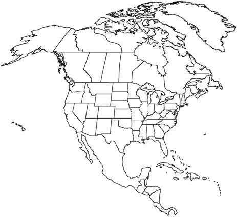 GREAT MAPS for notebooking north america outline map and TONS more ...