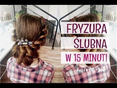 Prosta Fryzura ślubna Krok Po Kroku Hair By Jul Youtube