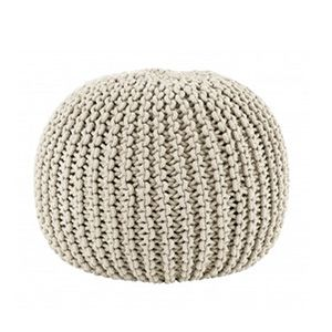 Pouf En Maille Tricotée Fly D I S E N O Furniture Home