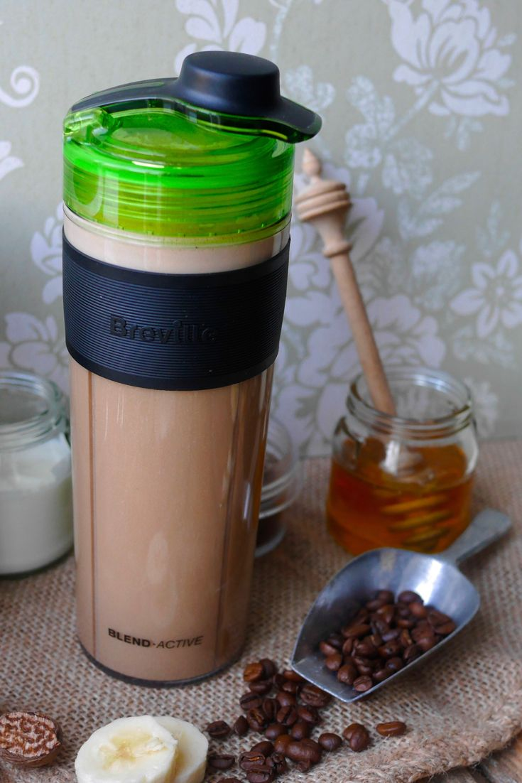Blendactive coffee and banana latte smoothie recipe