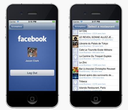 Facebook App Design Mohali