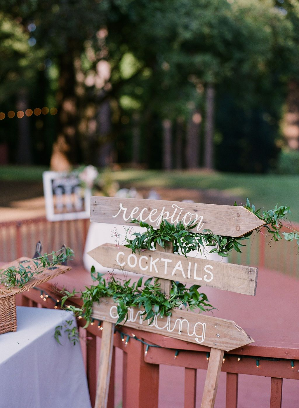 Wedding Signin Area Decoration at The Mountain Terrace