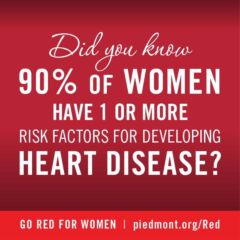 GoRedForWomen Piedmont Healthcare