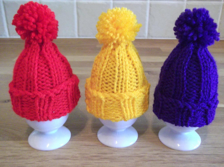 Tiny Pompom Hat ~ Easter Egg Cosy / Christmas Tree ...