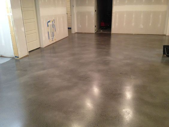 Grey Stained Concrete Floors Stained Concrete Home