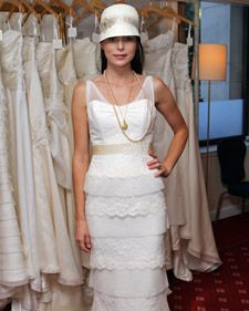 Amy Kuschel's fall 2011 wedding dress collection, straight from the runway.
