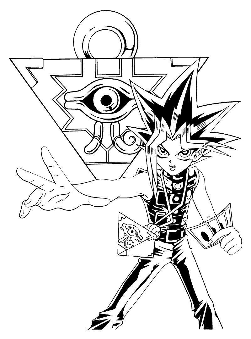 30 Yu Gi Oh Coloring Pages Printable Coloring Pages Curious George Coloring Pages Nemo Coloring Pages Spiderman Coloring