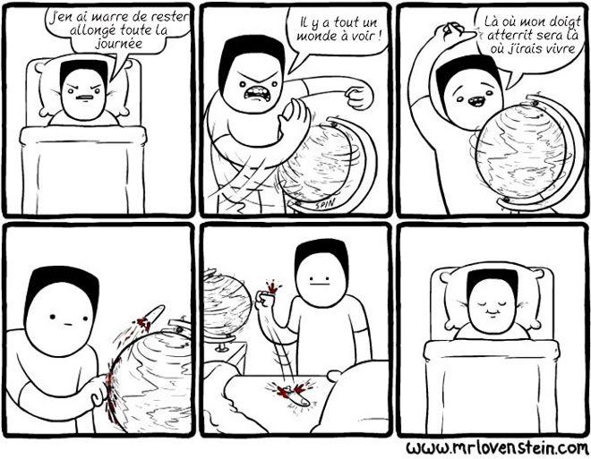 Si vous aimez l'humour noir, ces 22 illustrations devraient beaucoup vous plaire