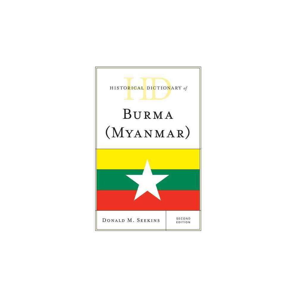 Historical Dictionary of Burma (Myanmar) (Hardcover) (Donald