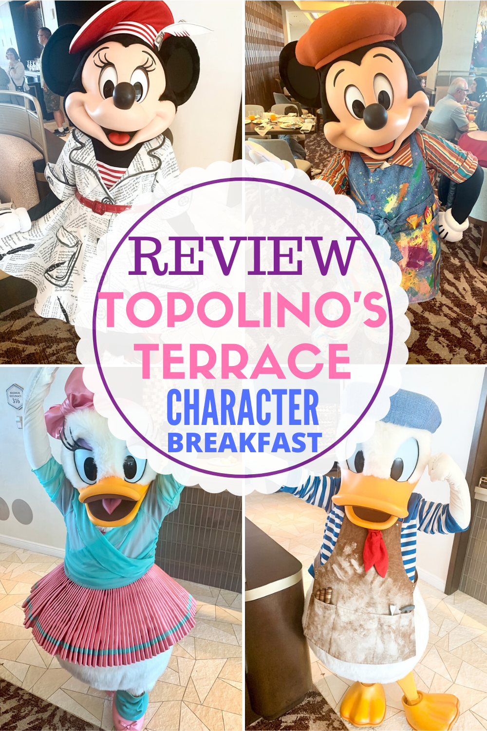 Is Topolino S Terrace Character Breakfast Worth The Price Pros