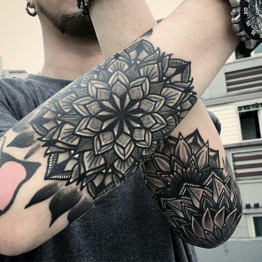tatuagem sombreada moda masculina tatouage tatouage. Black Bedroom Furniture Sets. Home Design Ideas