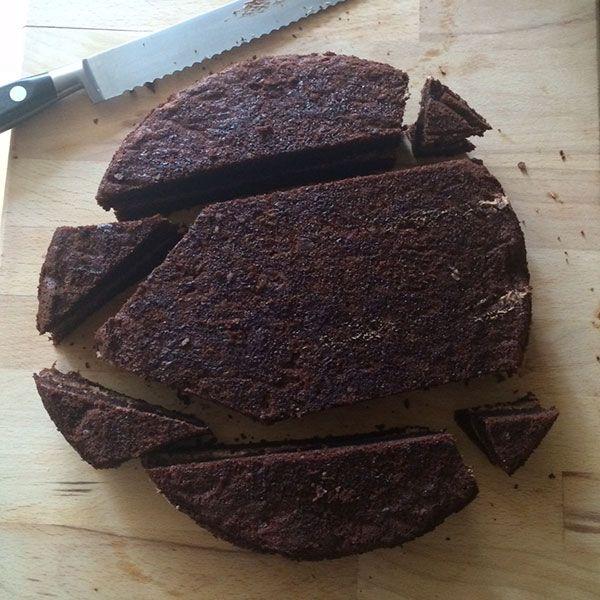 How to make a chocolate hedgehog cake | delicious. magazine #hedgehogcake