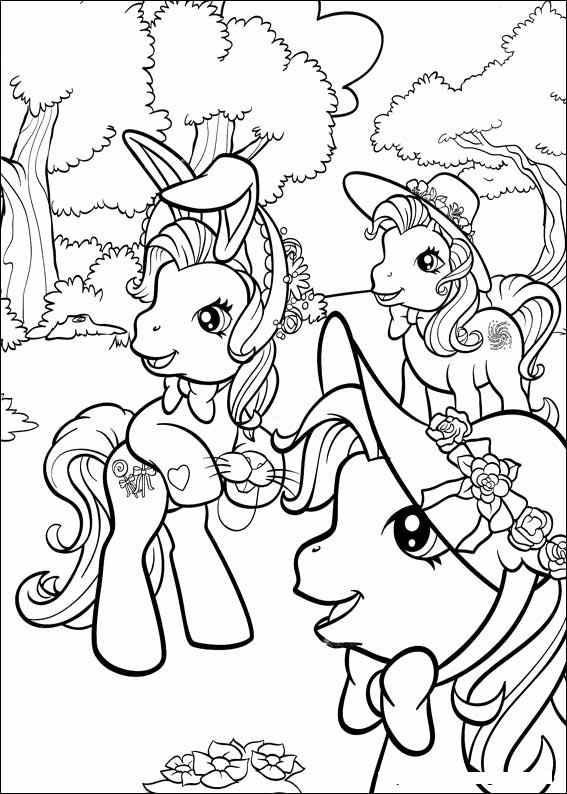 My little pony coloring pages my little pony 8 coloring for My little pony easter coloring pages