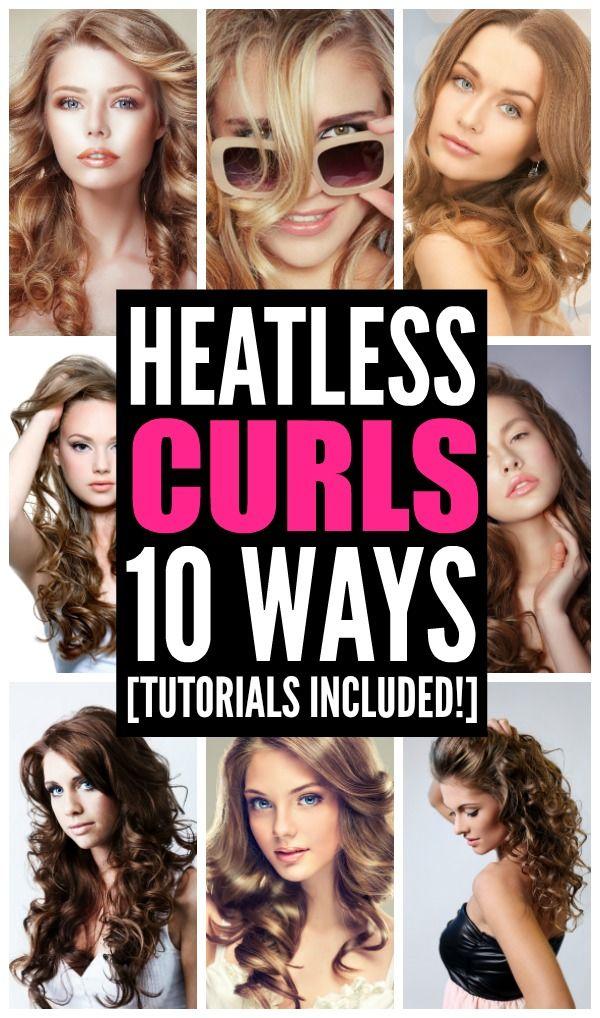Heatless Curls That Last: 10 Looks We Love