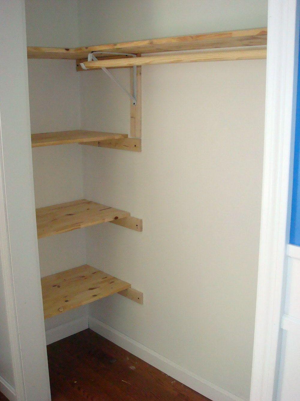 Merveilleux Corner Shelves For Closets