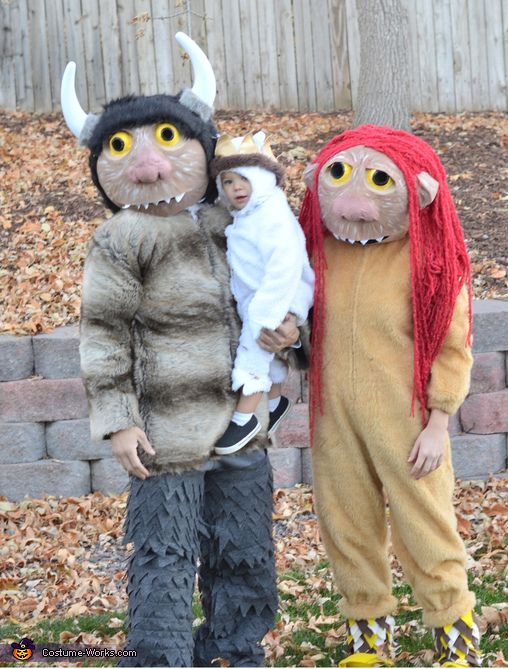 carol kw and max where the wild things are family costume - Max Halloween Costume Where The Wild Things Are
