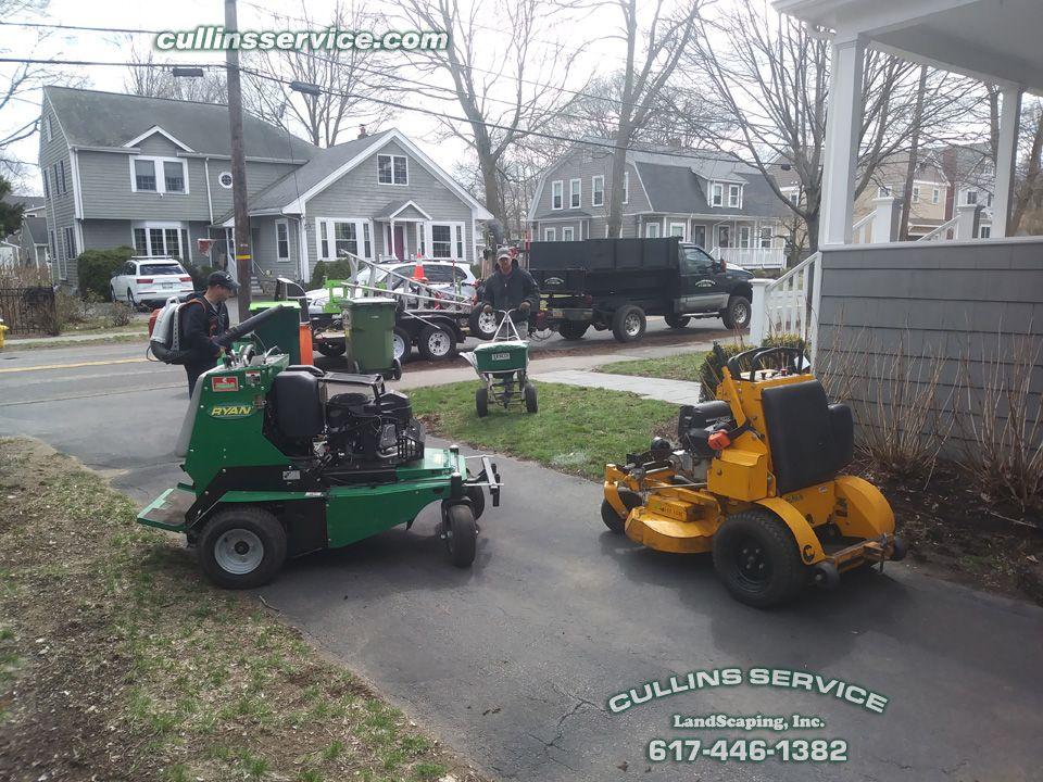Phase 1 setup 2 Tree removal service, Landscape