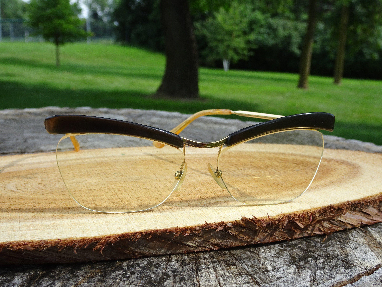 00cf7b2d41b Amor Browline 130 Gold Filled Eyeglasses