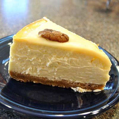 caramel praline cheesecake