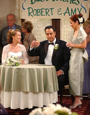 The Most Memorable Tv Weddings Tv Guide Everybody Love Raymond Tv Weddings Wedding Movies