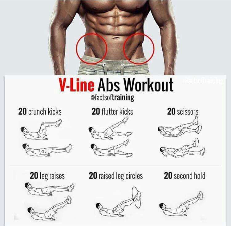 V Line Ab Workout