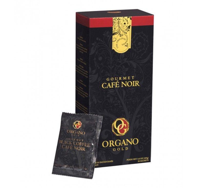 Organo gold ganoderma black coffee 60 sachets black