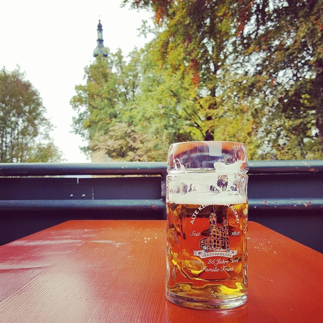 Vierzehnheiligen Nothelfer Trunk #lager #bier #lagerbier #helles #vierzehnheiligen #klosterbrauerei #nothelfer #trunk #basilika #instabeer #beerstagram #franken