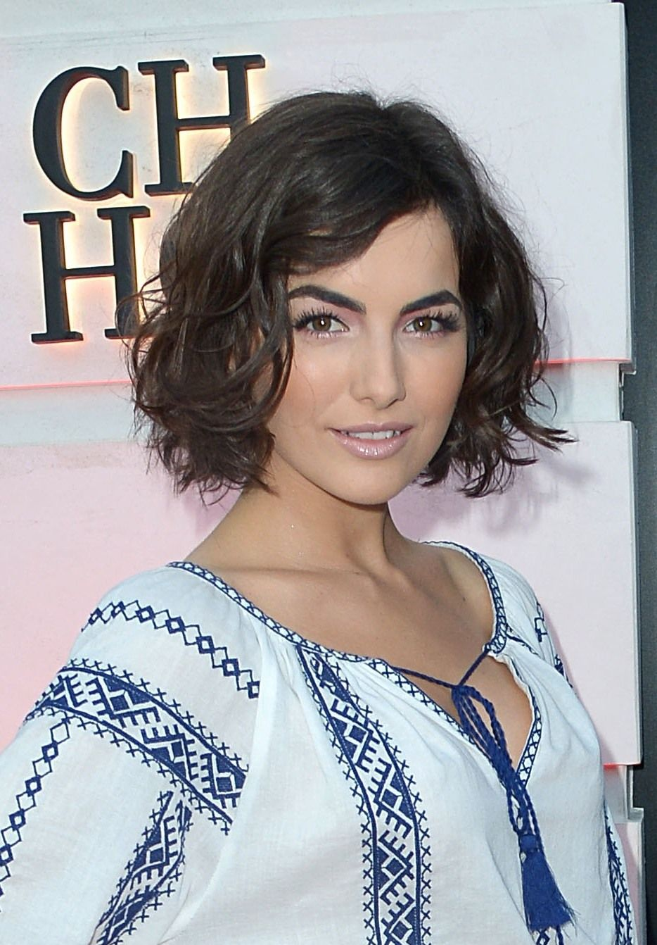 Haircuts with fringe camilla belle bob hair cuts and camilla