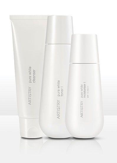 ARTISTRY® Pure White Skin Care www.amway.ca/nourishingfamilies