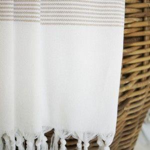 Hamamtuch / Pestemal / Turkish Towel Jil beige