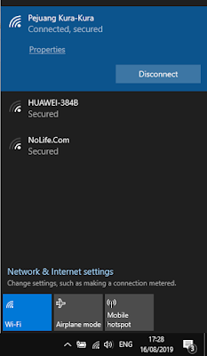Cara Melihat Password Wifi Di Windows 10 Terbaru Cemiti Jaringan Komputer Windows 10 Teknik Komputer
