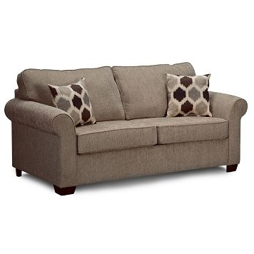 68 Wide, 38 High, 38 Deep  $424 Downey Upholstery Full Sleeper Sofa |  Furniture.com $424.99