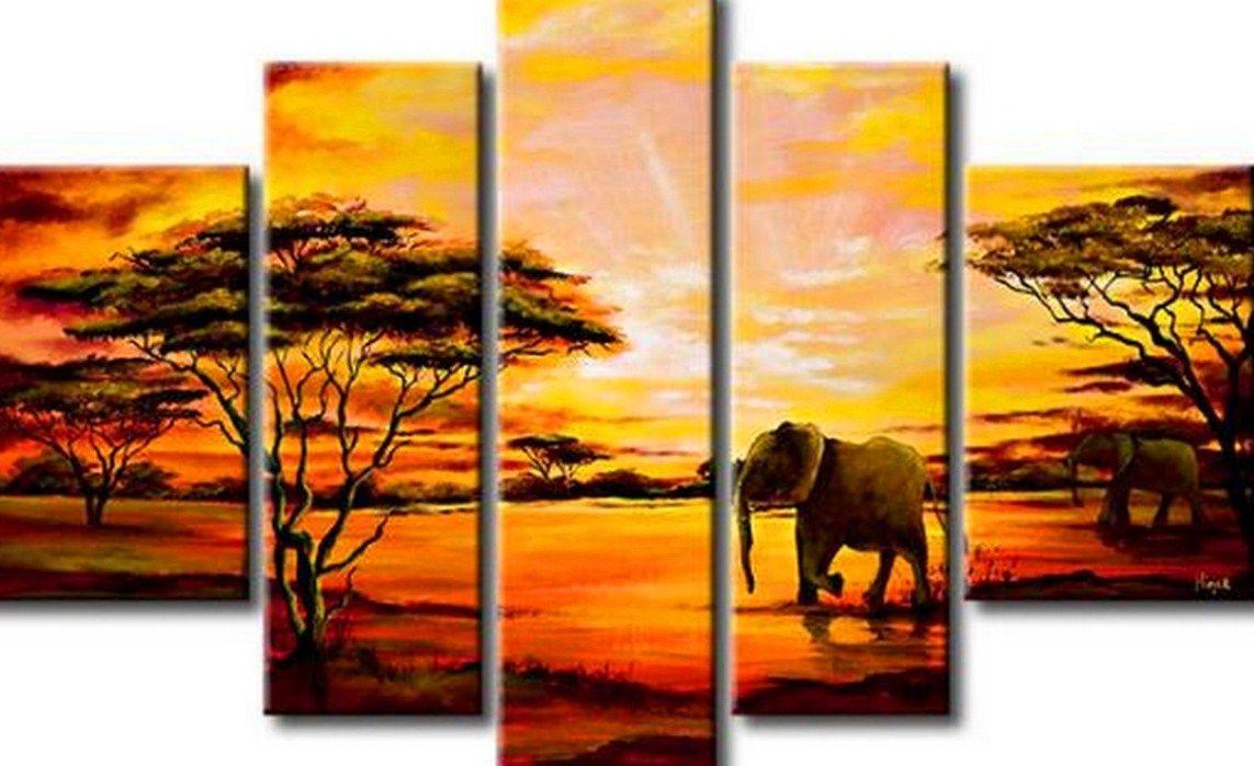 Cuadros al oleo cuadros de paisajes modernos pinturas al - Cuadros figurativos modernos ...