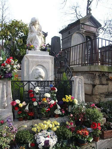 The Monument To Chopin In The Luxembourg Gardens