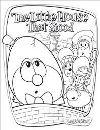 The Wise Foolish Builders Images Google Search Coloring Pages Veggietales Bible Crafts