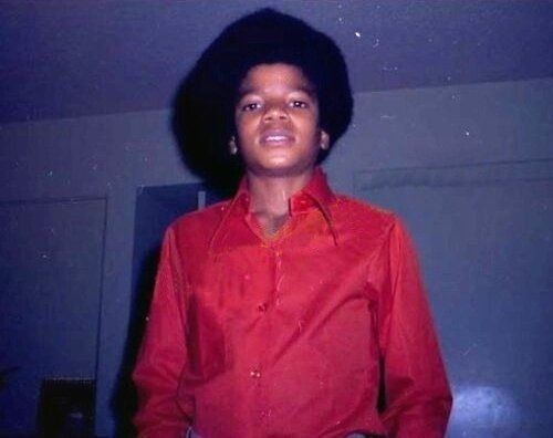Rare picture of Michael Jackson