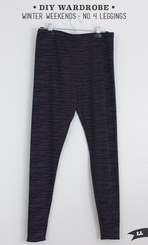 Winter Wardrobe –No. 4 Leggings — Sew DIY