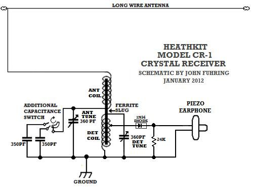 crystal radio crystal radio pinterest radios crystals and ham rh pinterest com Crystal Radio Kits to Build Crystal Radio Set