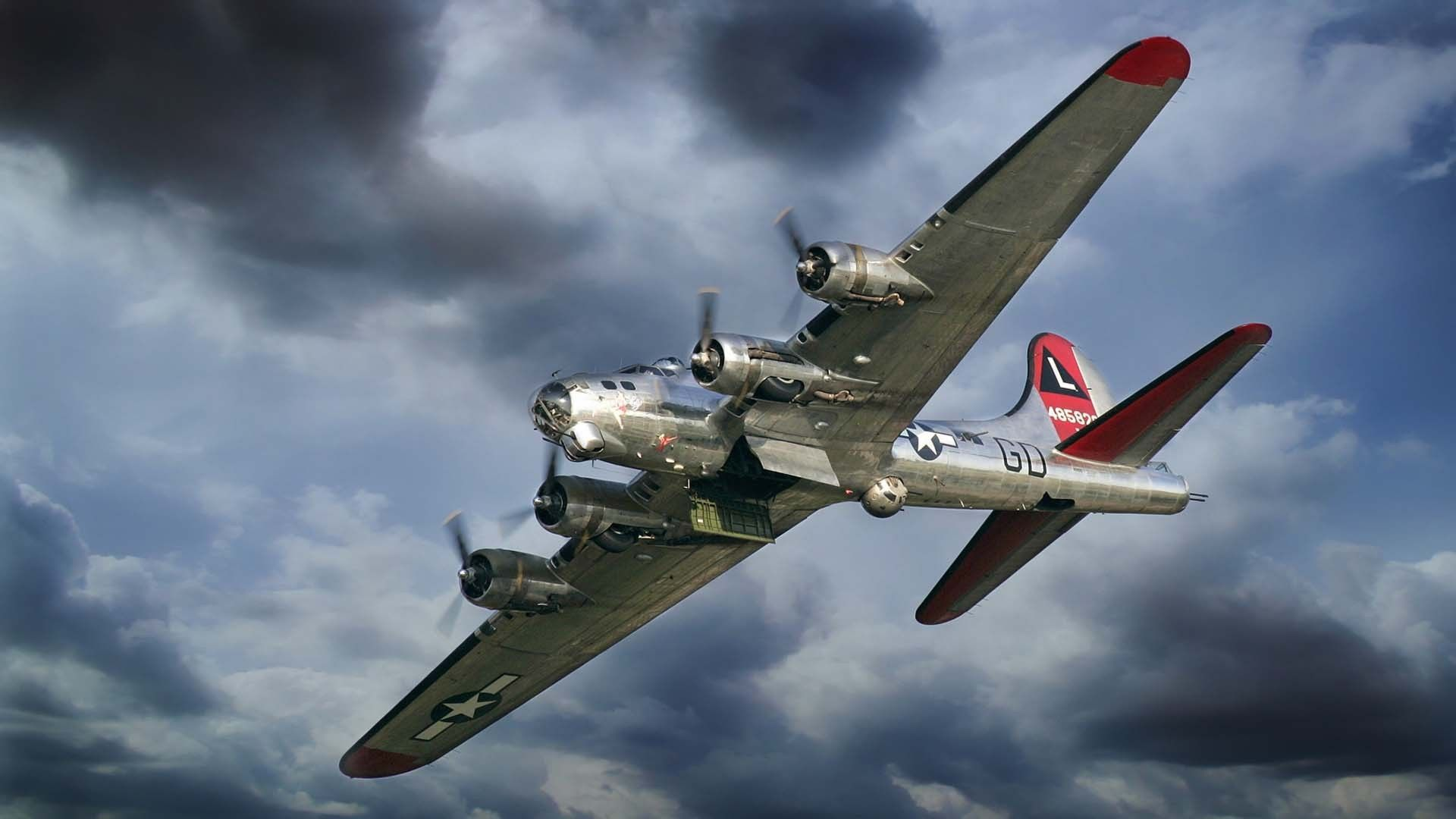 Boeing B 17 Flying Fortress Full Hd Wallpaper And Wwii