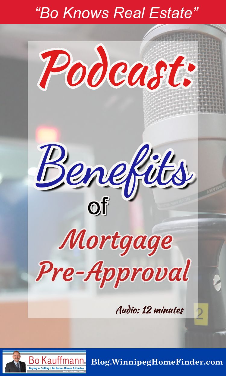 Mortgage Pre Approval Process And Benefits Audio Interview