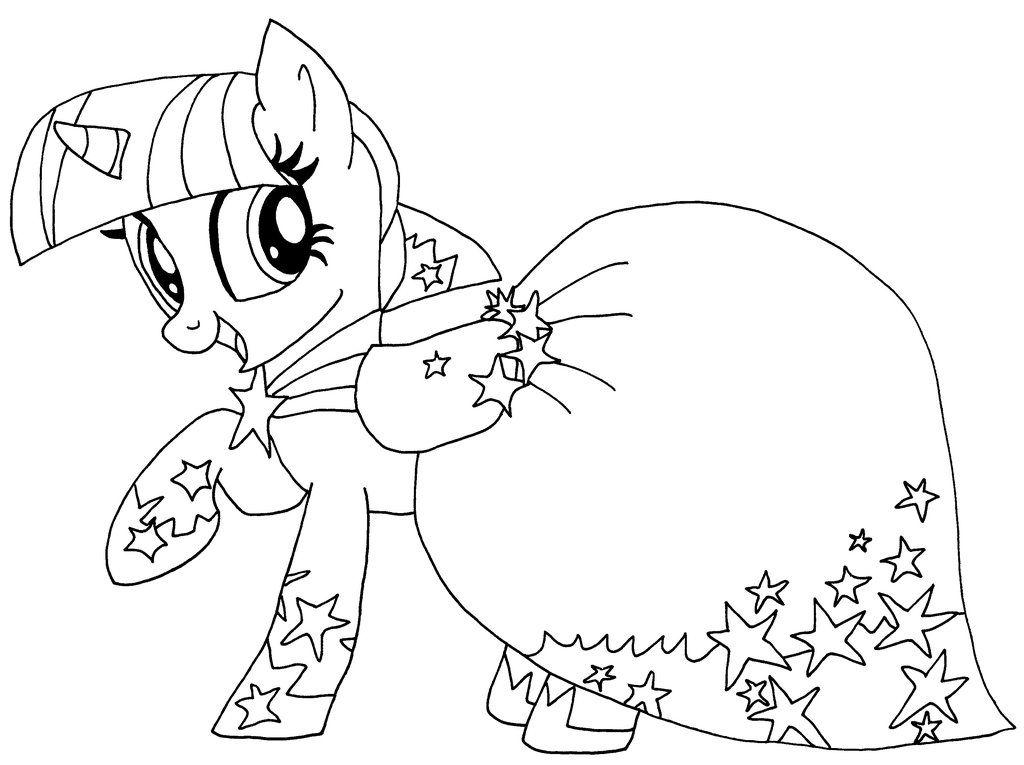 Bildergebnis Fr Ausmalbilder My Little Pony Twilight